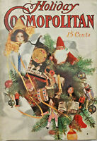 Cosmopolitan Jan 1909 Antique Magazine Holiday Christmas New Year Issue