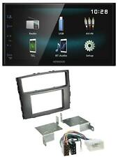 Kenwood AUX Bluetooth USB MP3 2DIN Autoradio für Mitsubishi Pajero 2006-2014