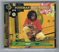 BUSHMAN - MOST WANTED - 2009 - 12 TITRES - NEUF NEW NEU