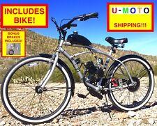 66cc 80cc Motor Kit 2-Stroke Complete Diy Motorized Bike Kit With Cruiser Bike!