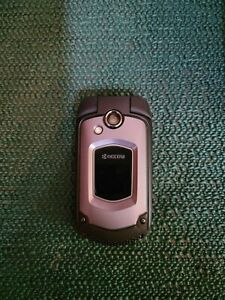 Kyocera DuraXTP E4281 - Black (Sprint) PTT 3G Rugged Camera Flip Cell Phone