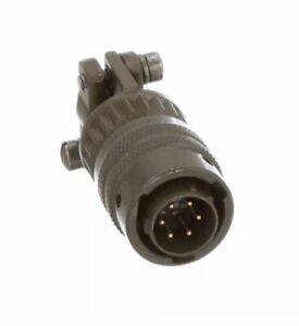 Amphenol Aerospace MS3116F10-6P Connector 6 Pos Plug Male Pins Mil Spec 600V