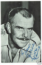 Windsor Davies Film & TV Actor Carry on Behind   Hand signed Photograph 6 x 4
