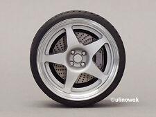 99543-18 Jantes Alu 1:18 compomotive 5 Spoke-Design 18 in 5/5 mm PN