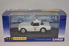 Vanguards Corgi VA 11507 Triumph TR4A Salford City Police 1:43 mint in box
