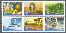 Ireland-Epic Journeys mnh block(1383-8) Explorers-Cook-Marco Polo-Moon(2001)