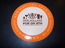 NEW HOLLAND BREWING Pub On 8th Michigan STICKER craft beer brewery dragons milk