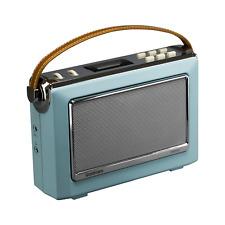 Goodmans OXFORDBLU 1960's Heritage Oxford DAB+ Retro Portable Radio BLUE