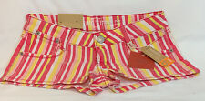 mossimo Fit 6 Striped Shorts Size 1 New With Tags