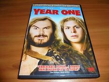 Year One (DVD, 2009, Widescreen Unrated)  Jack Black, Michael Cera Used