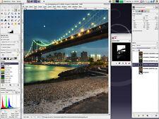 Logiciel d'édition de photos-photoshop cs6 CS5 alternative + plus tutoriels DVD