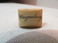 ancienne broche boutonniere souvenir de wangenbourg 67