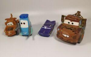 Disney Pixar Cars job lot toy cars, Mattel, Mater, metal/plastic