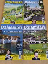 Yorkshire's Magazine Dalesman July - Oct 2018 Bundle Of 4