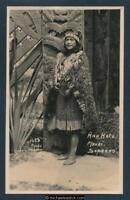 New Zealand Ana Hato, Maori, Soprano Iles Postcard