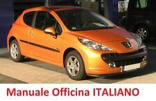 PEUGEOT 207 (2006/2015) Manuale Officina Riparazione ITALIANO