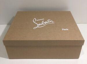 Christian Louboutin Empty Gift Storage Shoe Box with Tissue 14.25 x 11.5 x 5.25