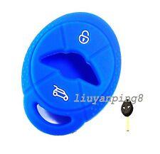 Mini Cooper R50 R53 remoto radio control clave silicona Funda 2 llaves