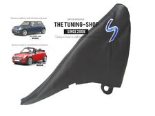 """For Bmw Mini Cooper R50 R53 S-One Handbrake Gaiter Leather """"S"""" Blue Embroidery"""