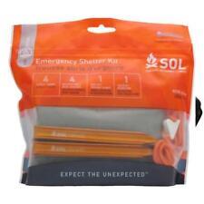New - AMK SOL Emergency Shelter Kit - Blanket, stakes, guys