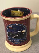 Mug Polar Express TM & Warner Disney Christmas Movie Ceramic Train Santa Believe