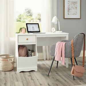 Vanity Table Dressing Computer Desk PC Table Study Workstation Wood Home Office