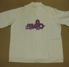 Malo 1970's Latin Rock Us Vintage Warner Bros. Records Promo Linen Shirt Santana