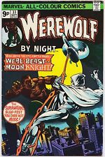 WEREWOLF BY NIGHT (1972) #33 - 2nd Moon Knight - VFN- (7.0) - Back Issue