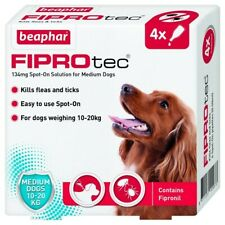 Beaphar FIPROtec Pipette for Medium Dogs - 6 Treatments
