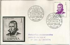 Spain Espana   1970  Guillen De Castro  Barcelona  1pta   FDI   Postcard / Cover