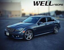 WellVisors For 08-14 Mercedes Benz W204 C-Class Side Window Visors Rain Guards (Fits: Mercedes-Benz)