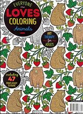 Everyone Loves Coloring Animals Art Therapy for Adults March/April 2016