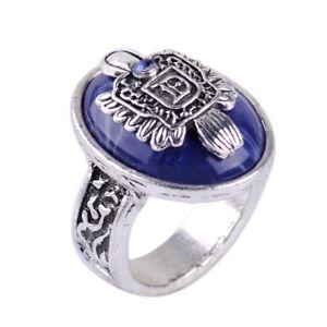 The Vampire Diaries Damon Finger Family Crest Vintage Ring Diameter 18mm mn