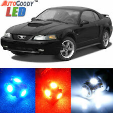 11 x Premium Xenon White LED Lights Interior Package Upgrade for Ford Mustang