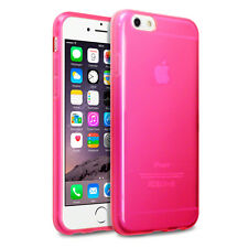 Impact Resistant Flexible Gel Case Ultra-Slim Cover Pink For iPhone 6 & 6S