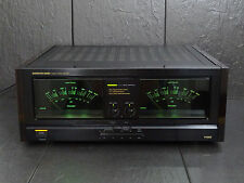 ONKYO M-5590 POWER AMPLIFIER P-3390 PREAMPLIFIER EXCELLENT! VINTAGE