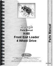 Hough H 60 Payloader Parts Manual Catalog Tractor Shovel