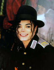Michael Jackson UNSIGNED photograph - L8084 - King of Pop - NEW IMAGE