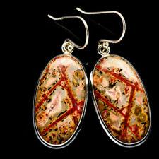 Pendientes de joyería con gemas Ana Silver Co. jaspe