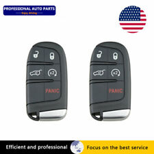 5x Replacement Fits for 2014-18 Jeep Grand Cherokee Remote Key Fob M3N-40821302