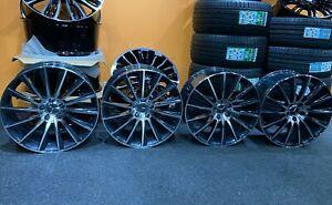 "Ex Display 20"" Mercedes AMG Turbine Style Alloy Wheels 8.5J/9.5J C-class Eclass"
