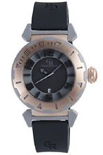 Giulio Romano Men's GR-5000-13-007.09 Ferrara Rose Gold IP Rubber Strap Watch