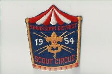 Vintage 1954 Sinnissippi District Scout Circus Patch [CM0165]