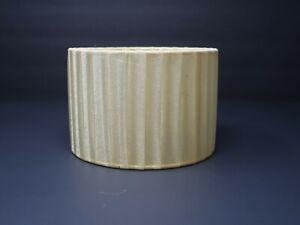 "Mini Clip On Drum Pleated Lamp Shade  6"" x 6"" x 4"""