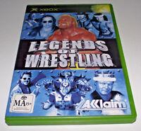 Legends of Wrestling XBOX Original PAL *Complete*
