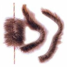 beaver fur silencers for recurve or longbow