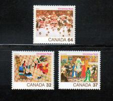 Christmas = Canada MNH-VF 1984 #1040-1042 set q02