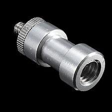 3In1 1/4 to 3/8 Male to Female Adapter Screw Camera Tripod Ball Head Monopod