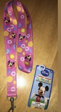 New Disneys Minnie Mouse Lanyard 18.5� Age 3+ 3/4� Width Great For Pins!