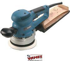 LEVIGATRICE ROTORBITALE MAKITA 150mm 3mm MOD. BO6030JX CON CASSETTA IN PLASTICA